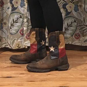 Durango Women's Texas Flag Boots